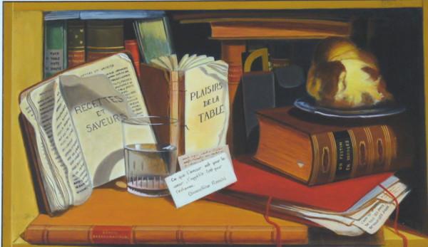 D'après Charles Bird King, L'Armoire du pauvre artiste, détail