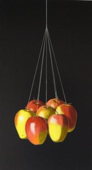 D'après Juan Sanchez Cotan, Nature morte aux oiseaux, aux légumes et aux fruits, détail