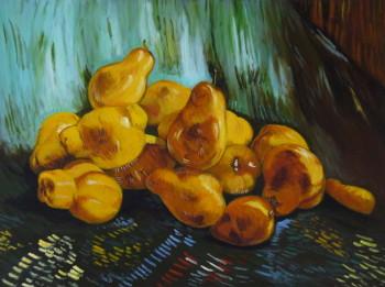 D'après Vincent Van Gogh, Nature morte avec poires