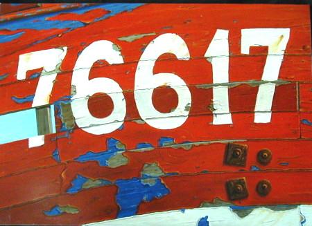 76617, huile sur toile, 92 x 65
